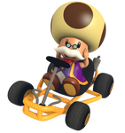Toadsworth - Mario Kart Commemorative Pack