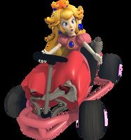 Princess Peach - Mario Kart Commemorative Pack by Vinfreild