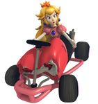 Princess Peach - Mario Kart Commemorative Pack