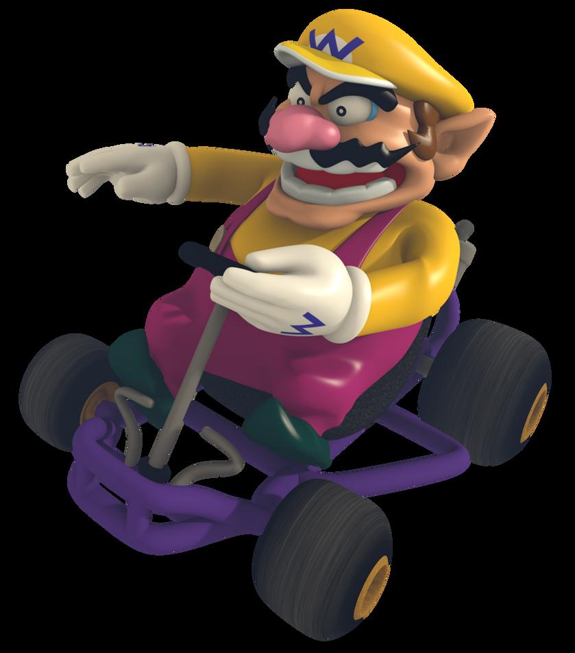 Wario - Mario Kart Com...