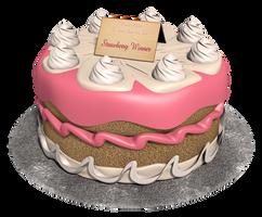 First Annual Royal Cake Bake Winner - Strawberry by Vinfreild