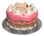 First Annual Royal Cake Bake Winner - Strawberry