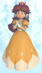 Princess Daisy Sarasa - Spring Breeze by Vinfreild