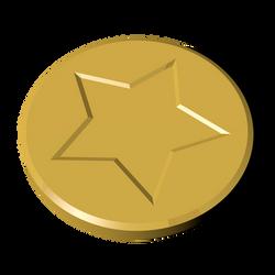 Coin - Super Mario 64 Style
