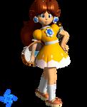 Vinfreild N64 Princess Daisy - Mario Tennis 1