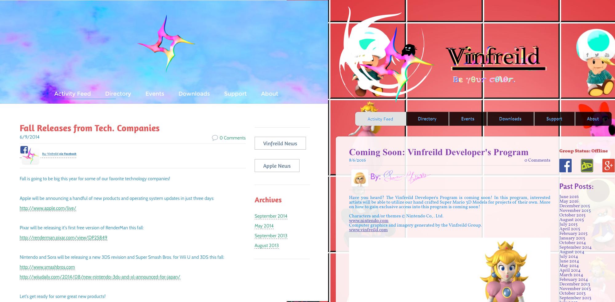 Vinfreild Rebranded Web Launch! by Vinfreild