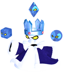 BEHOLD THE CRYSTAL KING! SPIRIT OF ICE! by Vinfreild