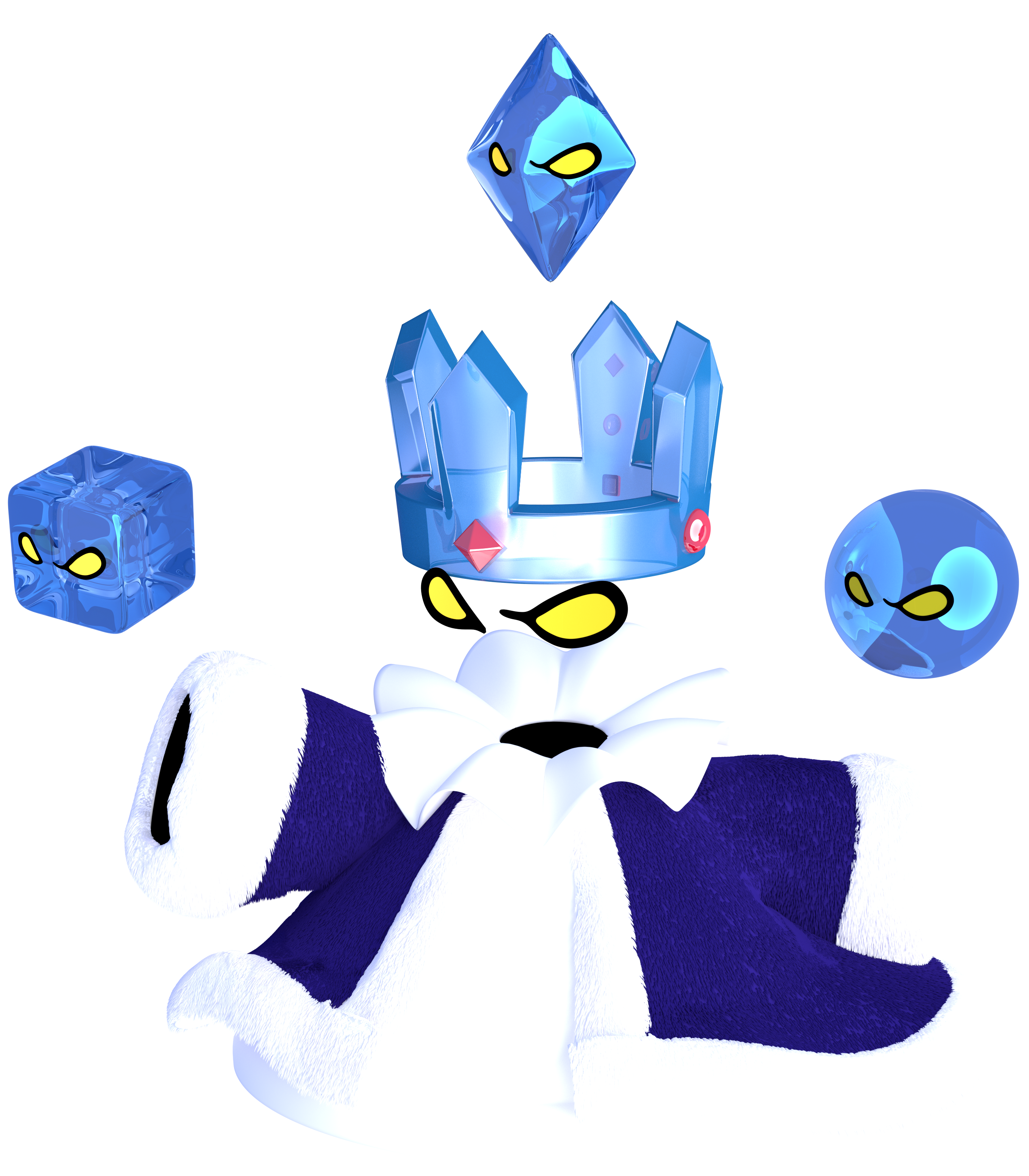 BEHOLD THE CRYSTAL KING! SPIRIT OF ICE!
