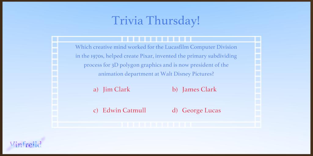 Trivia Thursday (9/14/2017)