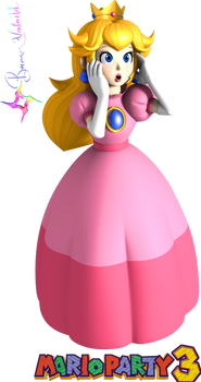 Mario Party 3 Peach (4K Reproduction) by Vinfreild