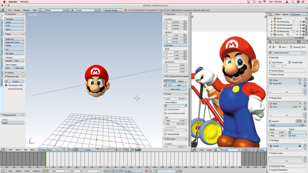 N64 Mario (ACM Reproduction Version 5.0b) [W.I.P.]