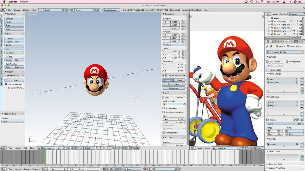 N64 Mario (ACM Reproduction Version 5.0b) [W.I.P.] by Vinfreild