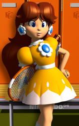 Princess Daisy - Mario Tennis 64 Hi-Res (2019)