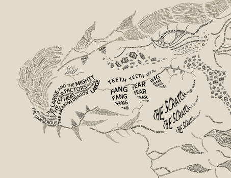 Dragon Typography