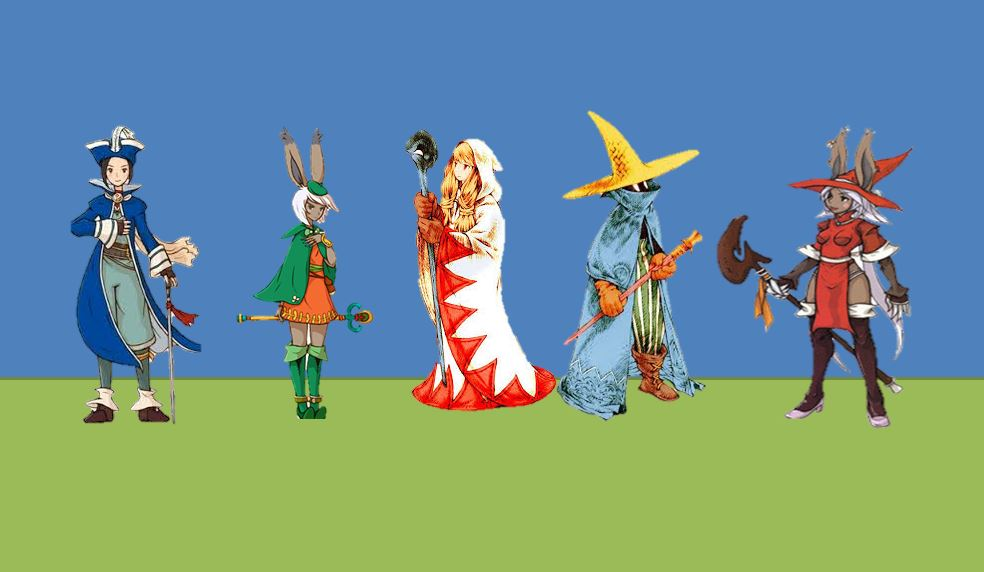 Mages of Final Fantasy by Black-Mage-no-116