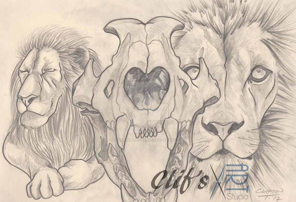 Lion by clifthammavongsa