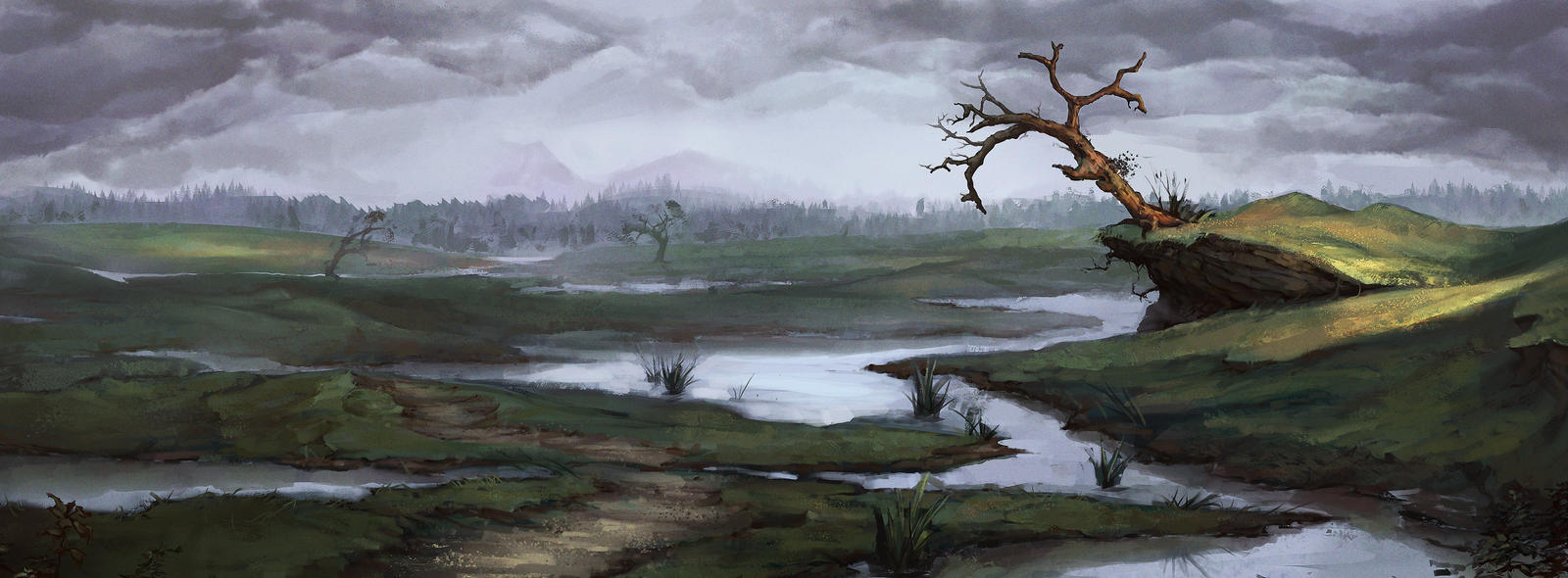 Dead Marshes by DanDanDanTheMan