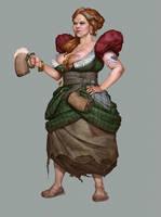 Fable Barmaid by DanDanDanTheMan