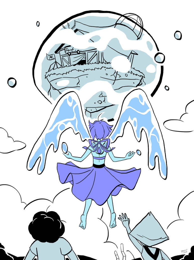 """I am not getting caught in the middle of another war…""  Lapis Lazuli takes the barn"