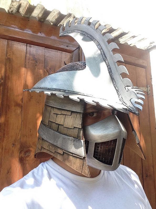 Shredder Helmet by Mrpinski