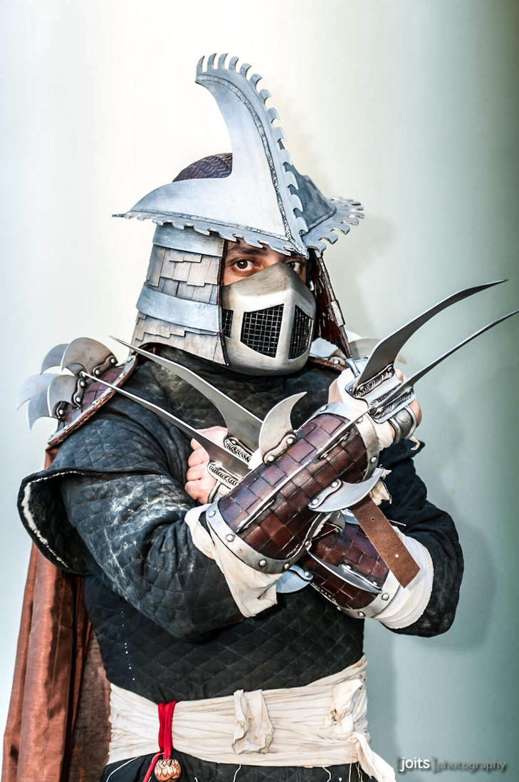 Shredder Cosplay  by Mrpinski