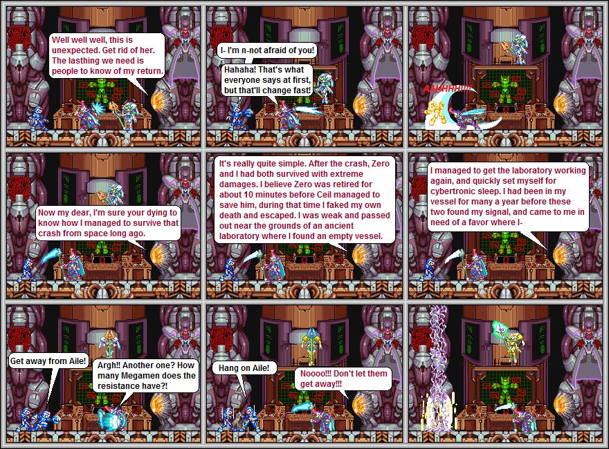 Megaman Zero 5: X's Return 06 by AnalyticalActor