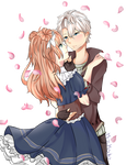 Together- Contest Entry W/ flowers