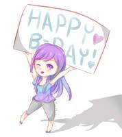Happy Birthday NorthernLights8! by MizuMisuto