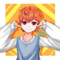 Smile w/ (Speedpaint) by MizuMisuto