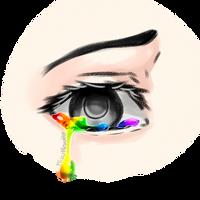 Rainbow Tear by MizuMisuto