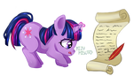 Twilight's First Letter