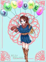 Balloons w/ Speedpaint by MizuMisuto