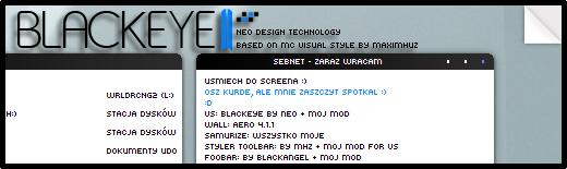 BLACKEYE II by pimpmydesk