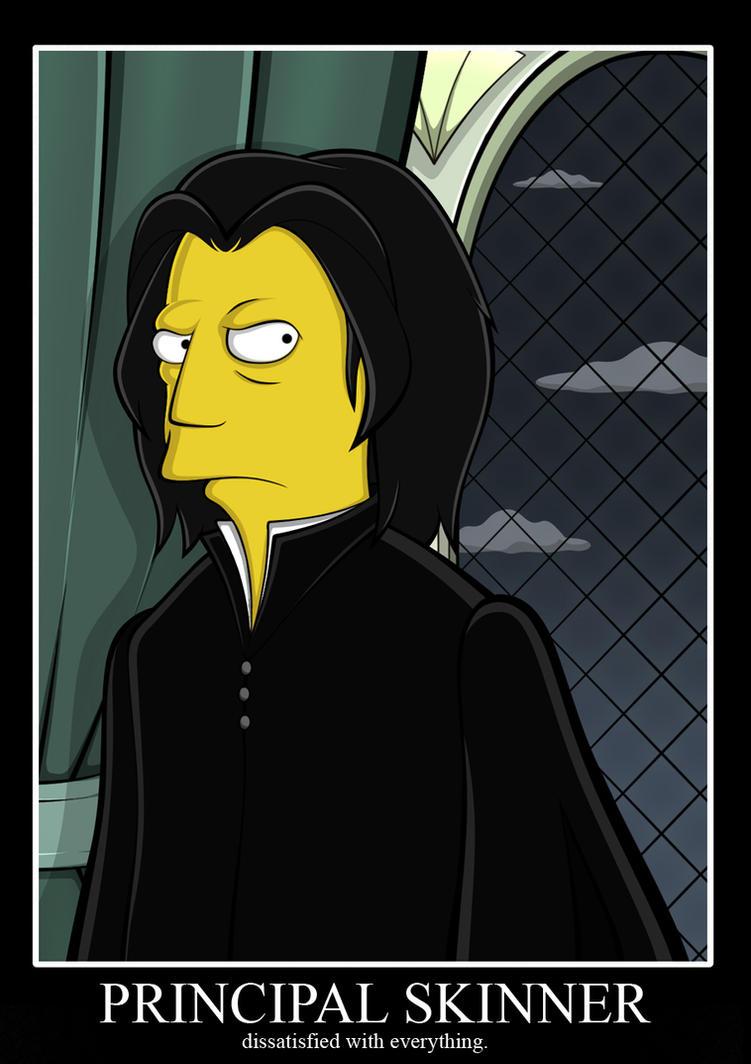 Severus Skinner by maryjuver