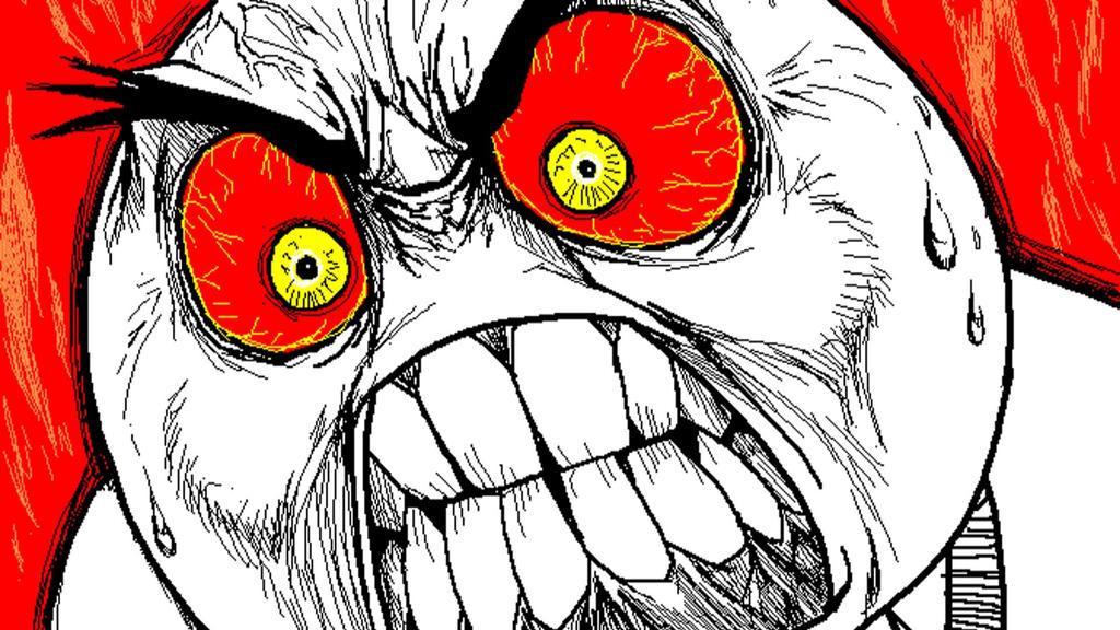 Гнев картинка прикольная