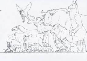 Bestiarium somniandi III by juniorWoodchuck