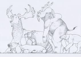 Kaiju - Mammaloid by juniorWoodchuck