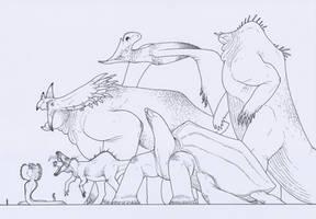 Kaiju - Reptiloid by juniorWoodchuck