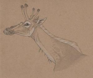 Just a normal giraffe
