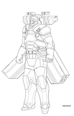 Dream Conglomerate Arcology Enforcer LINEWORK