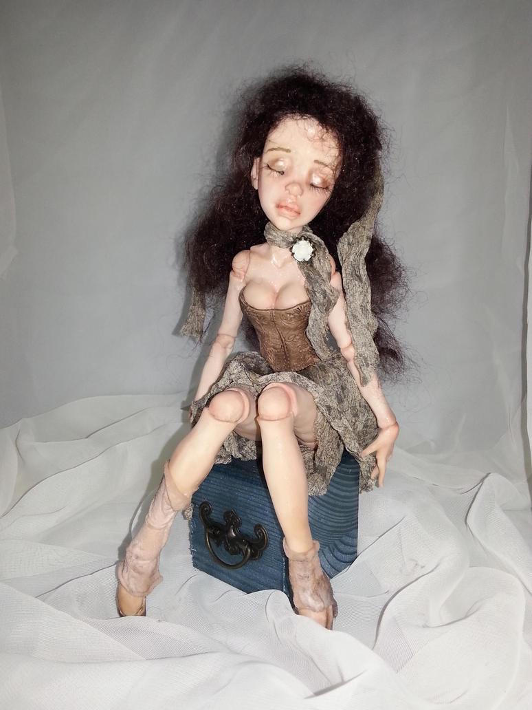 Forgotten Doll OOAK by lonewings