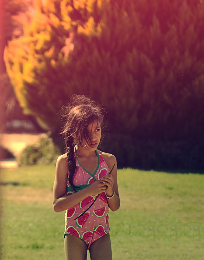 water melon girl by cagacaga