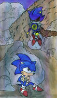 Colored: Fight With Metal Sonic