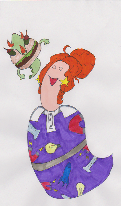 Marzipan as Ms. Frizzle by Gojira007