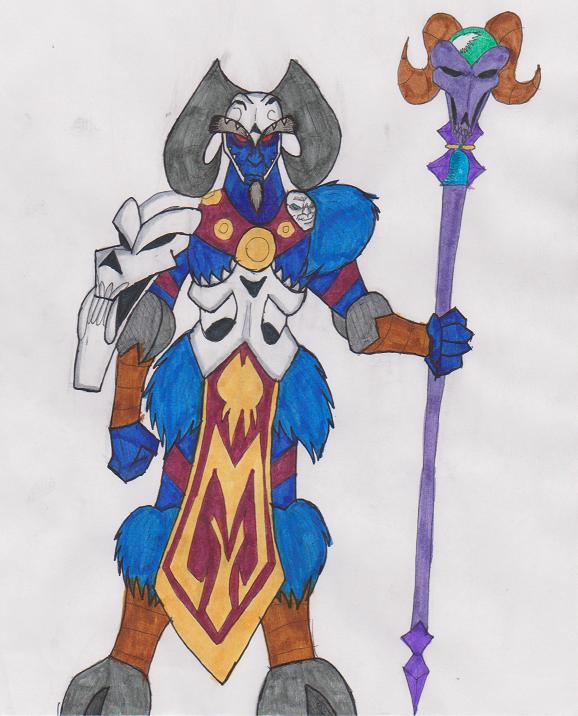 COMM: Darkness Knight Grogar by Gojira007