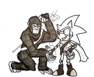 Apes, Together...Cool?