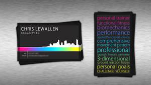 Business Card Design: Chris Lewallen