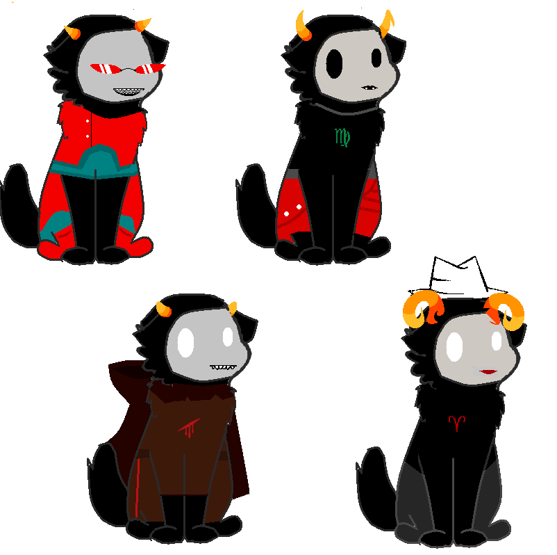 Homestuck BoneMask Commissions by ArtisticAnubis