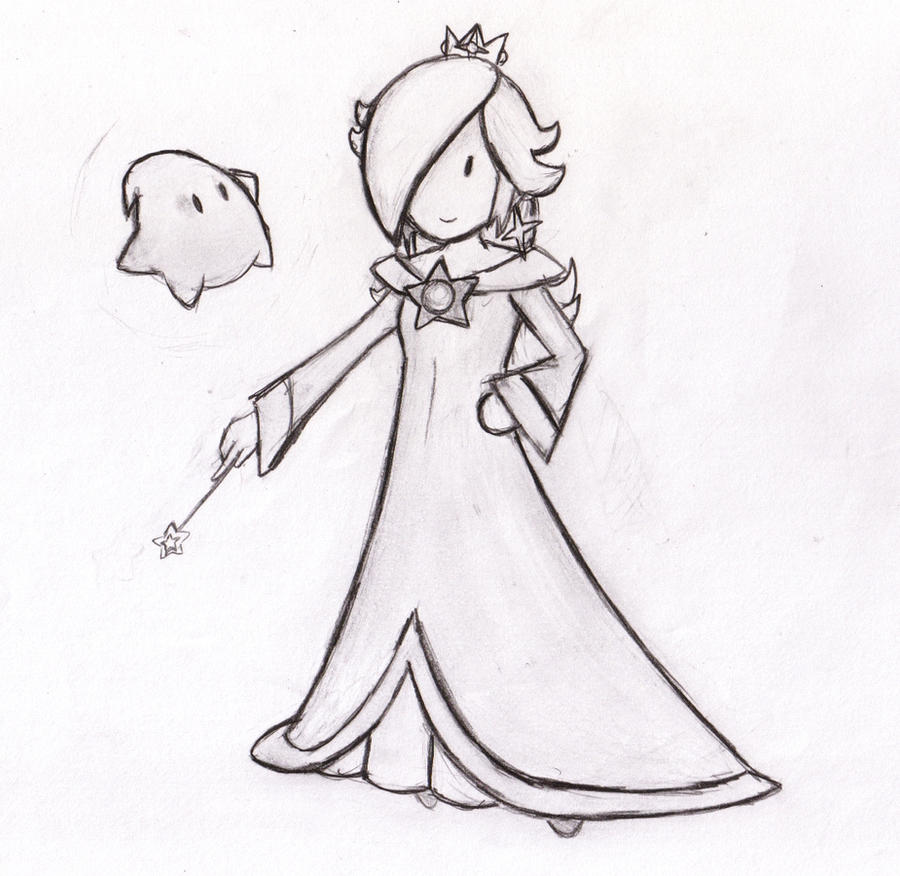 paper rosalina by locomotive111 on deviantart