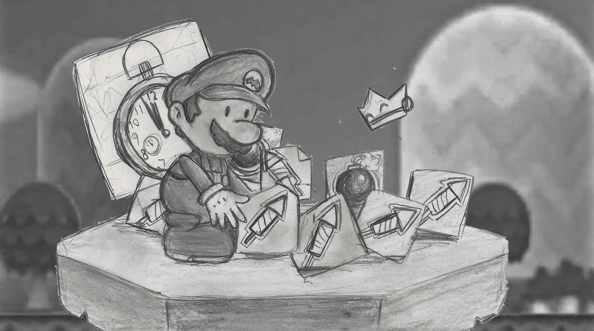A Paper Mario New Year by locomotive111